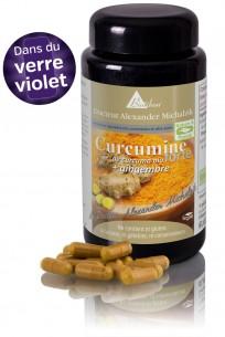 Curcumine forte de curcuma bio + gingembre