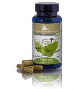 Ginkgo plus vitamine E
