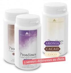 Protéines - en lot de 3