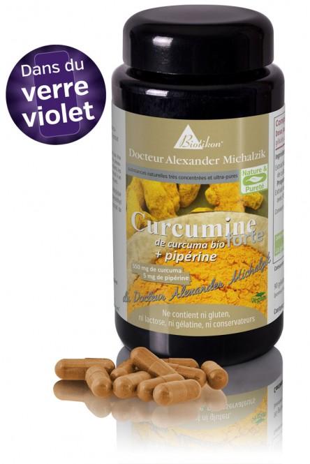 Curcumine forte de curcuma bio + pipérine