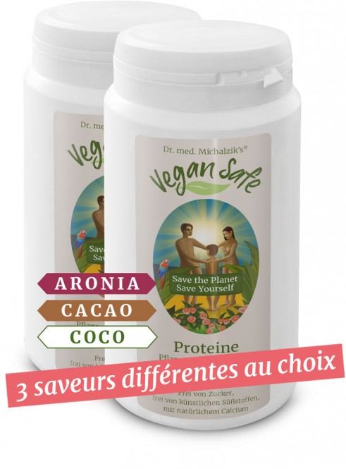 Vegan Safe Protéines - en lot de 2