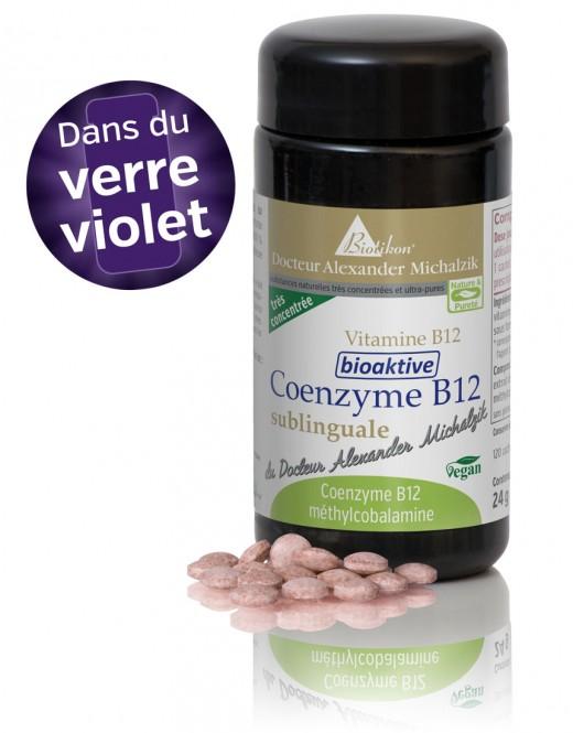 Coenzyme B12 biologiquement active, sublingual