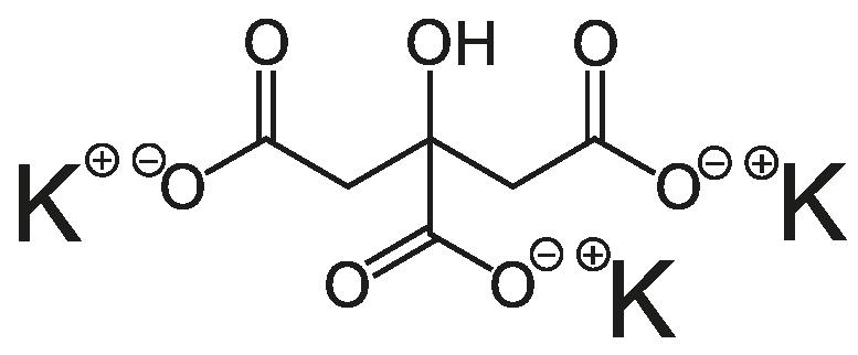 Kalium-Citrat Formel